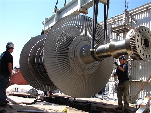 Stem Turbine Maintenance