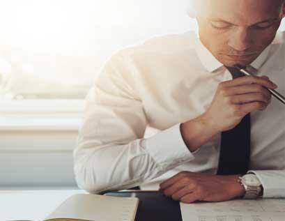 محلل مخاطر أعمال معتمد