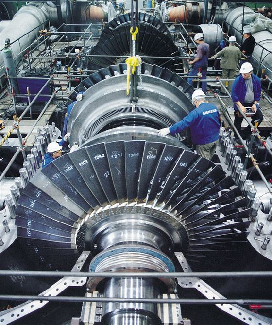 General Maintenance for Gas Turbines Gas Compressors