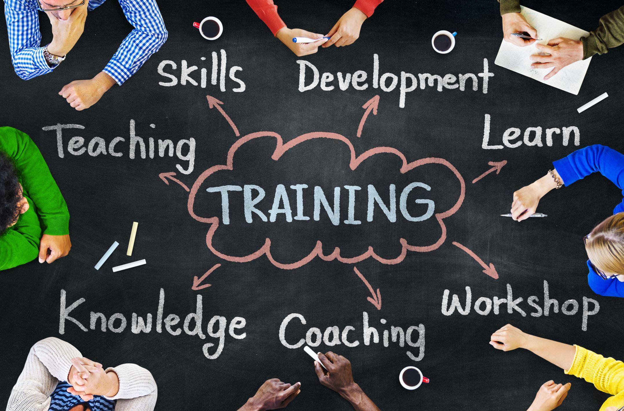 إدارة وتنسيق الدورات التدريبية