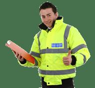 أمن العاملين في تأمين المنشآت الهامة